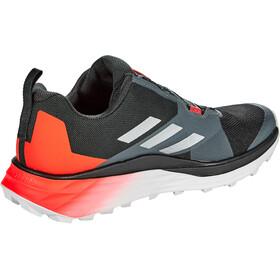 adidas TERREX Two Boa Zapatillas Trail Running Hombre, core black/silver metal/solar red